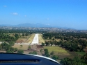 This Is The Strip At Les Cayes On Final Approach. It's Actually In Good Constion And The Airport Itself Is Secure.