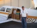 Loaded Up With 750 Lbs Of Food And Medice At Ft. Lauderdale Exective Airportfor A Run To Les Cayes Haiti Via Nassau. The Piper Lance Is A 160kt Pickup Truck. With 1000 Nm Range And 1450 Lb Useful, It Fits The Haiti Mission Profile Like A Glove.
