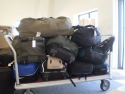 I Was Asked To Run This 700 Punds Of Medical Equipment To A Medical Team That Went Into Haiti Earlier In The Day And Were Unable To Operate Til I Got It There.