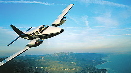 An Unusual Seneca II - Plane & Pilot Magazine