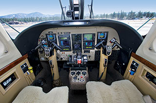 Twin Commander 1000 Cockpit