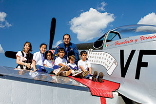 P-51 Humberto and Family
