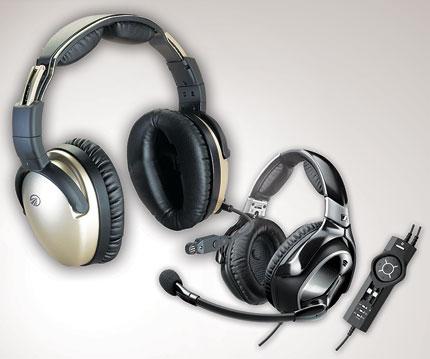 3d348bbf5cd Headsets On Parade - Plane   Pilot Magazine