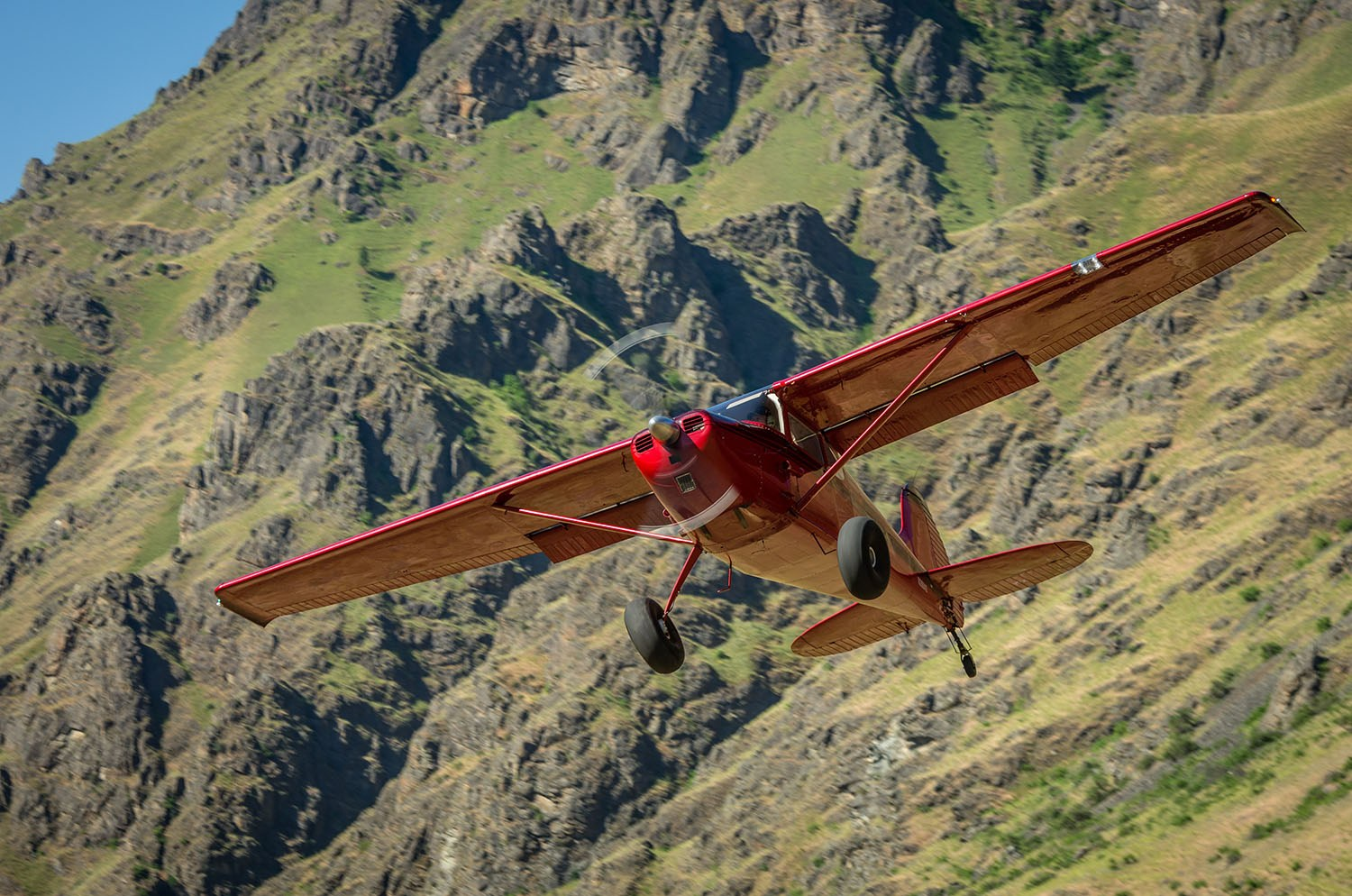 Takeoff in Hells Canyon by David J. Kennedy