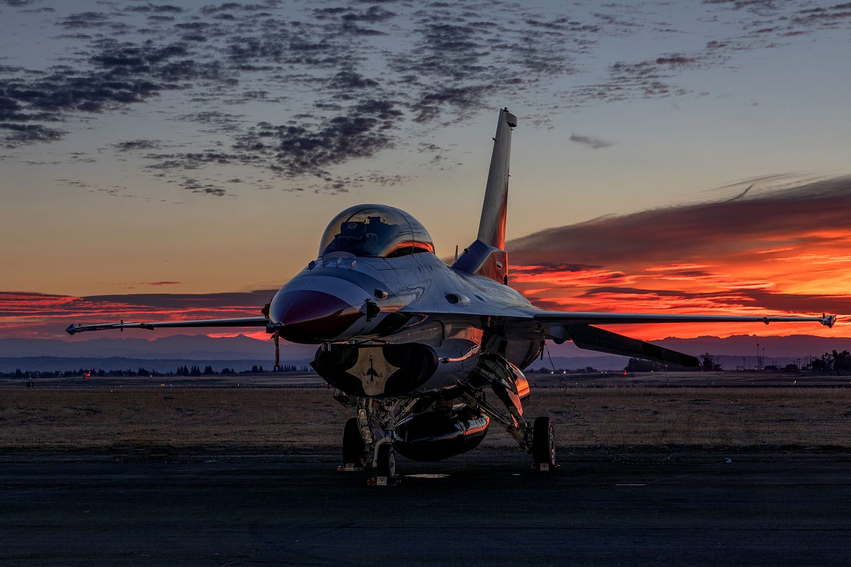 Thunderbird Four Sunrise by Garry Everett
