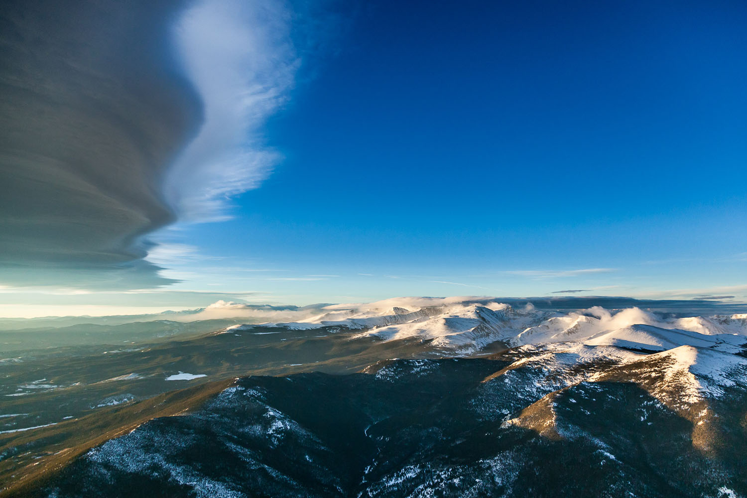 Mountain Wave Continental Divide