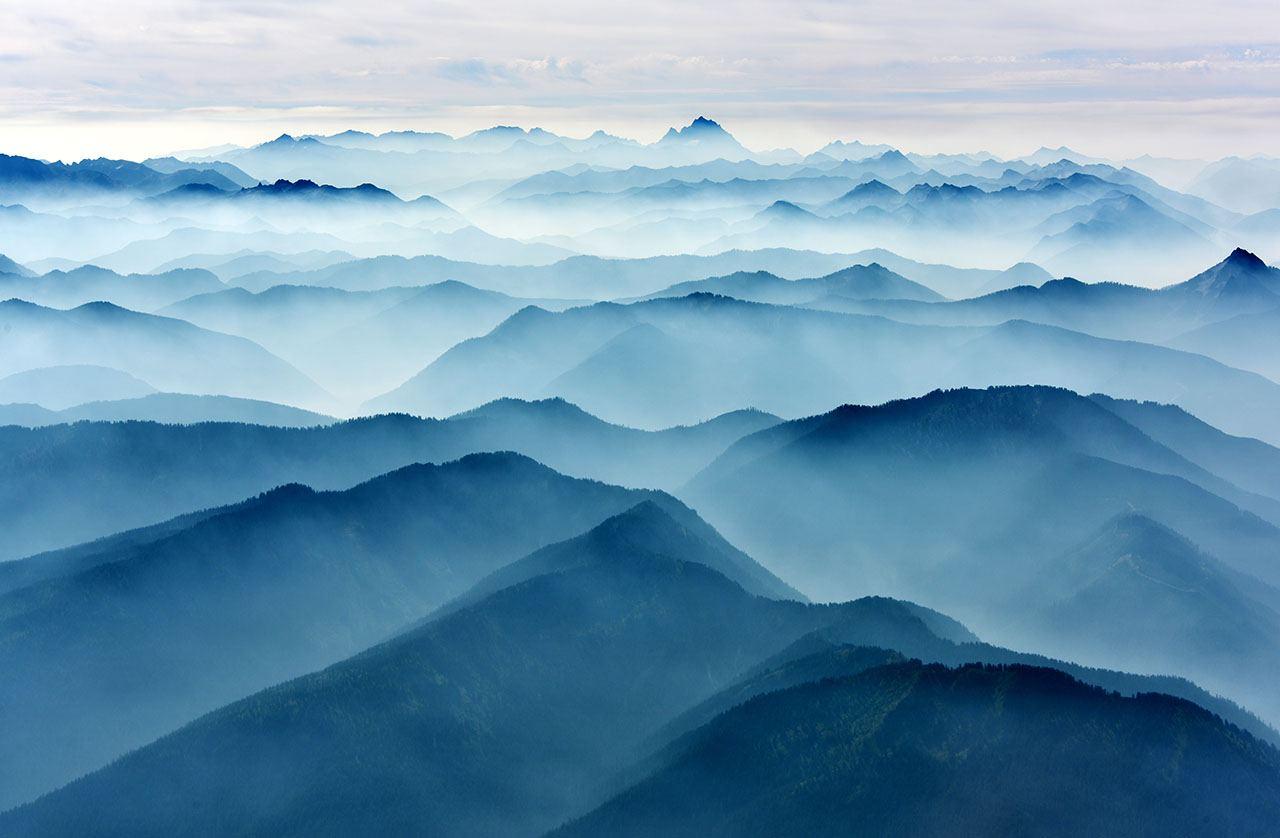 Mount Stuart and the Cascades