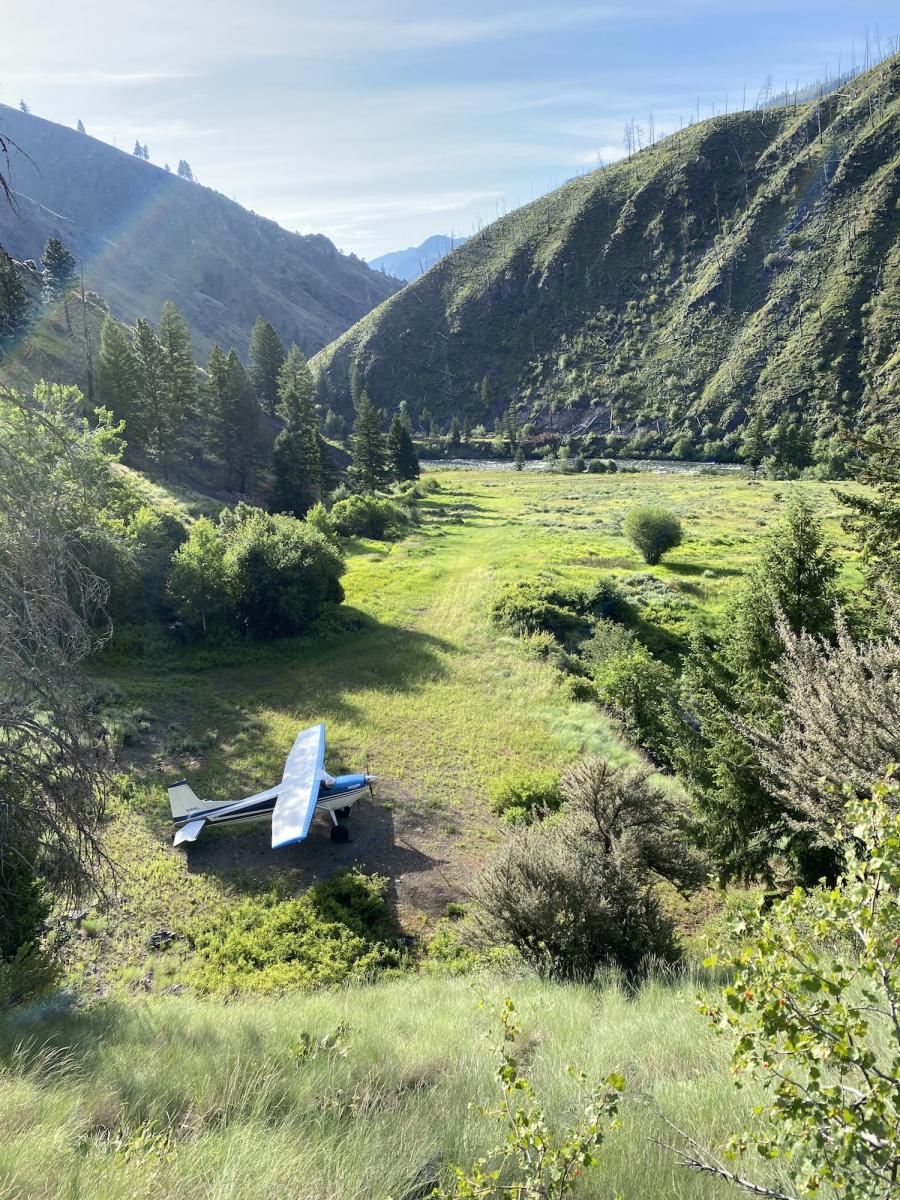 Cessna 185 by Kirk Ledoux