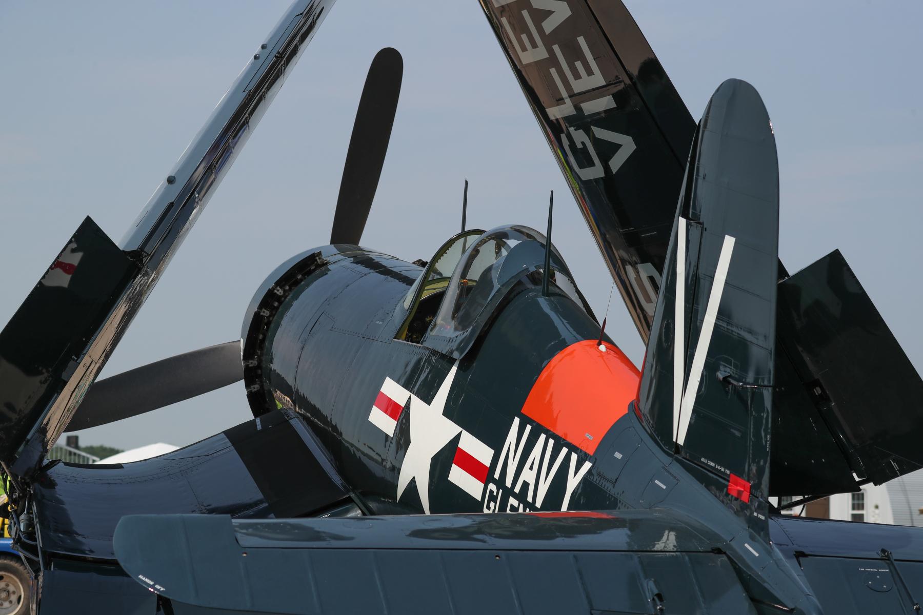 Vought F4U Corsair by Art Eichmann