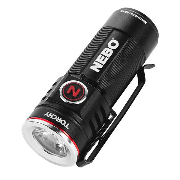 NEBO Torchy High Lumen Rechargeable Flashlight