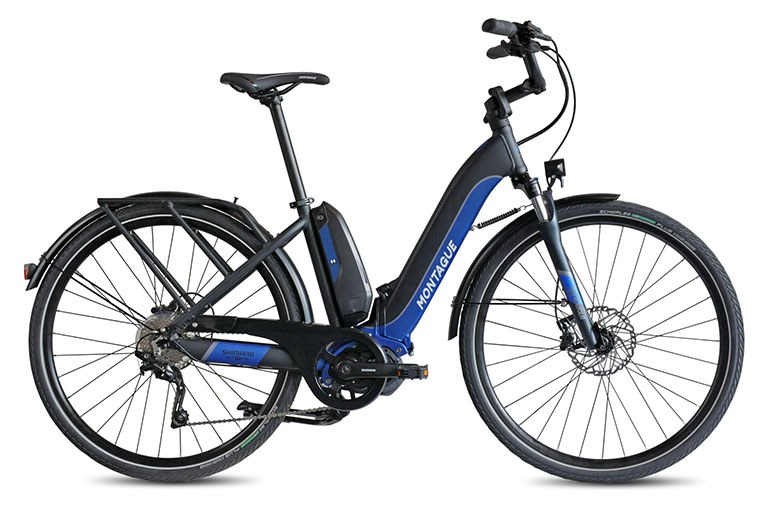 Montague Full-Size Folding E-Bike Designed For Pilots