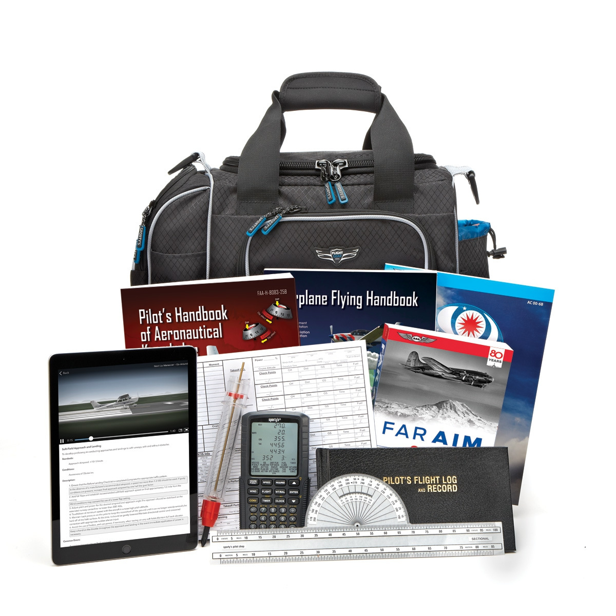 Sporty's Deluxe Learn To Fly Kit