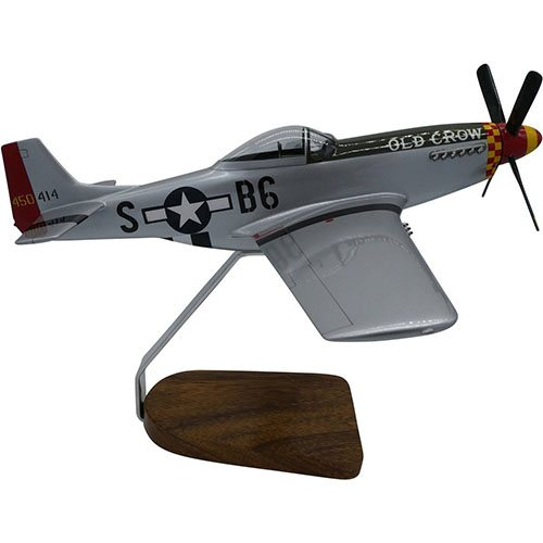 P-51 Mustang Mahogany Model