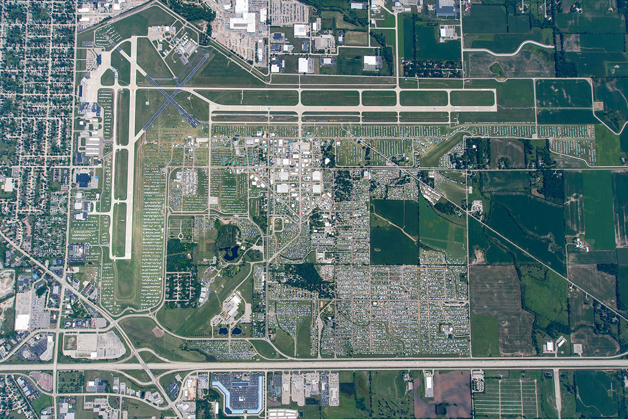 Wittman Regional Airport in Oshkosh, Wisconsin