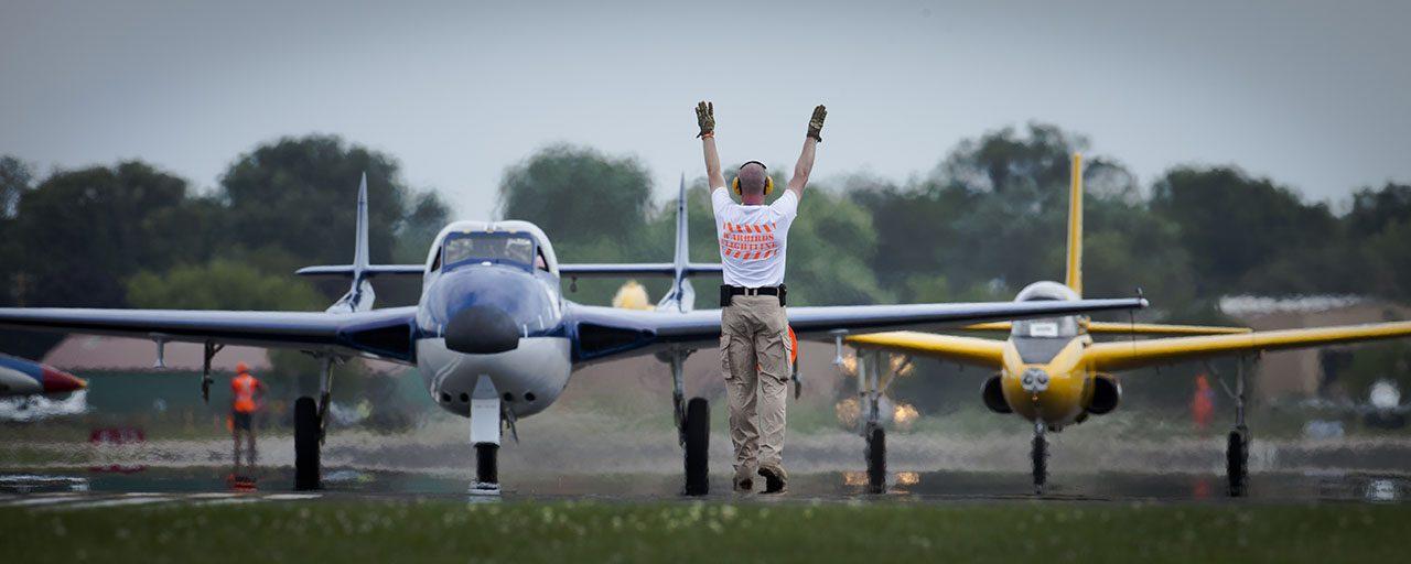 Volunteer At Flight Line