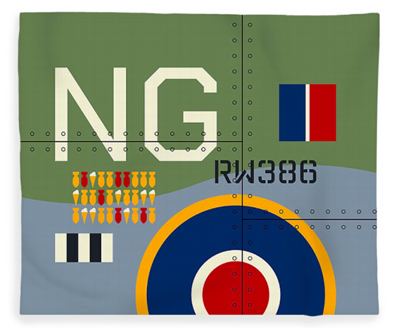 Aviation Fleece Blankets