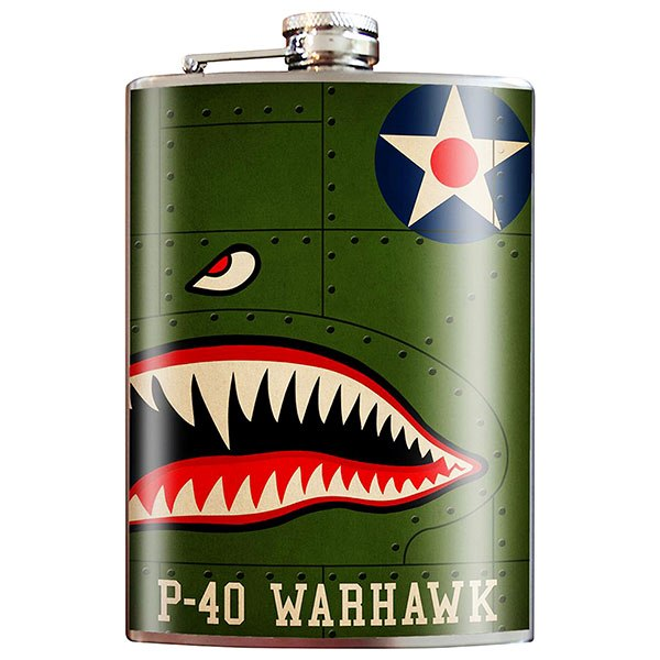 WWII-Themed Flasks