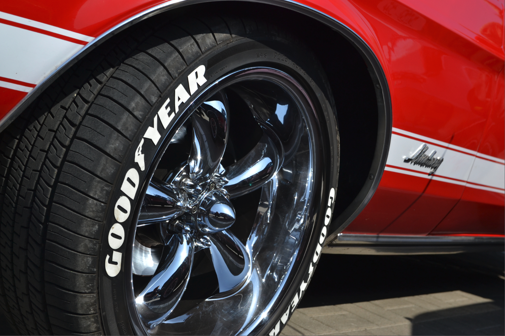 Goodyear Tire Muscle Car