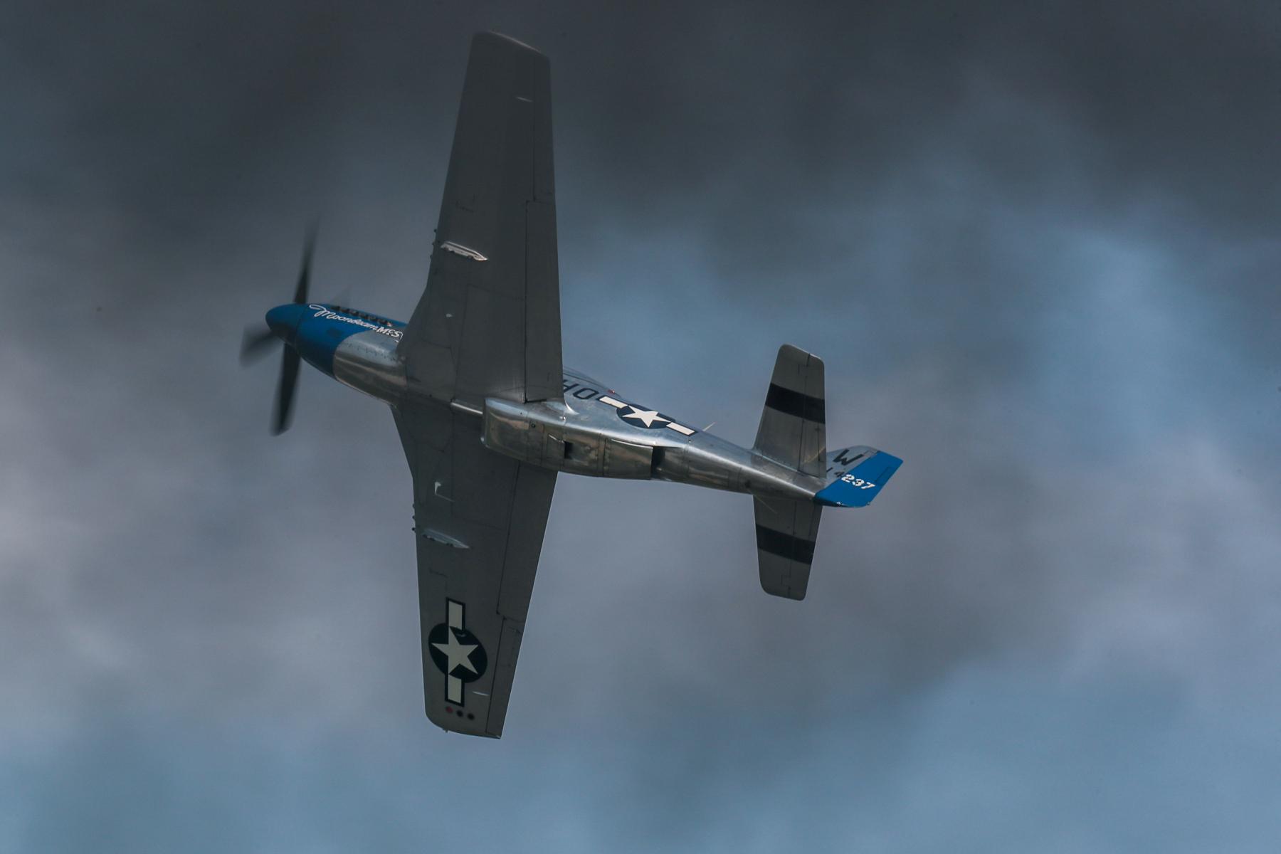 P-51 Mustang by Art Eichmann