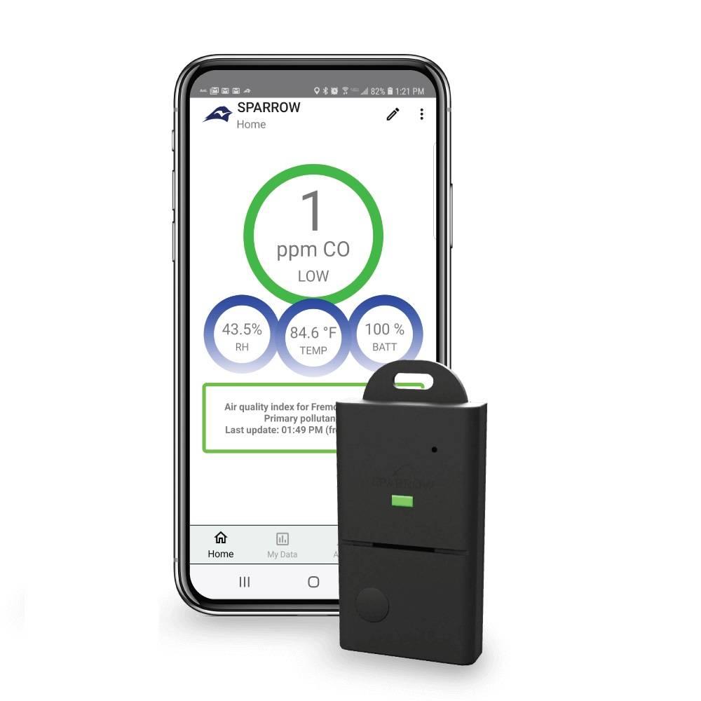 Sparrow W500 Carbon Monoxide & Air Monitor