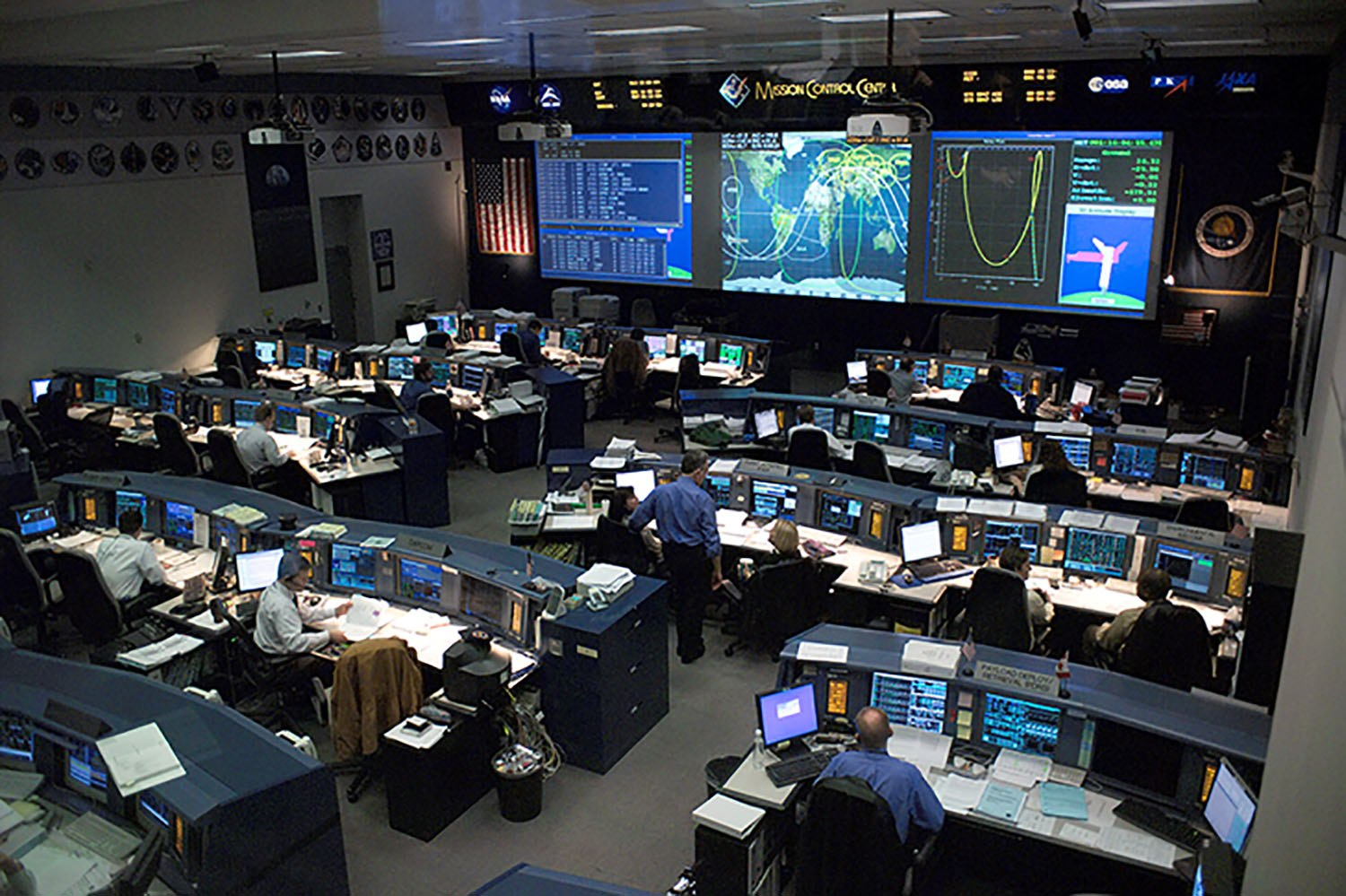 Mission Control Back In The Day