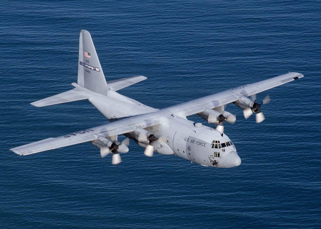 9. Lockheed C-130