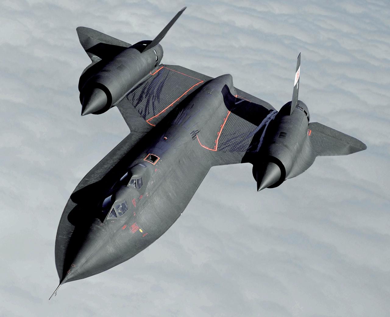 1. Lockheed SR-71 Blackbird