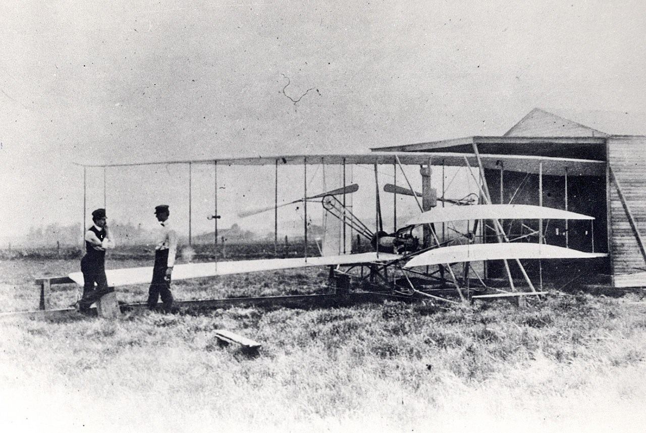 1. Second plane to fly