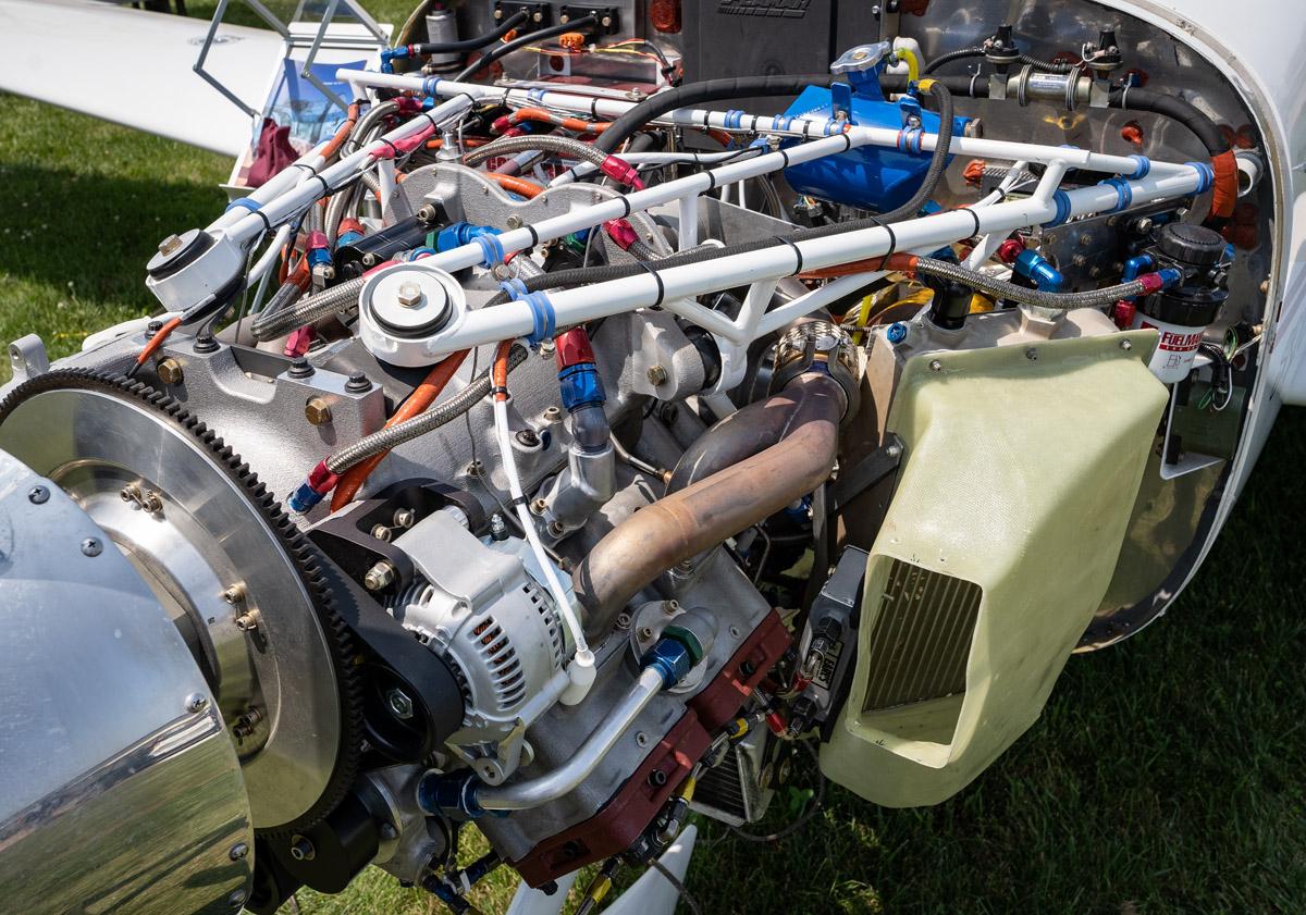 Delta Hawk Diesel Engine