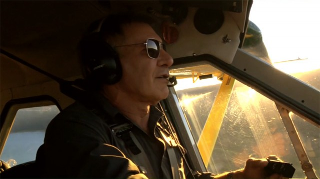 Harrison Ford in Wings Over the Rockies width=